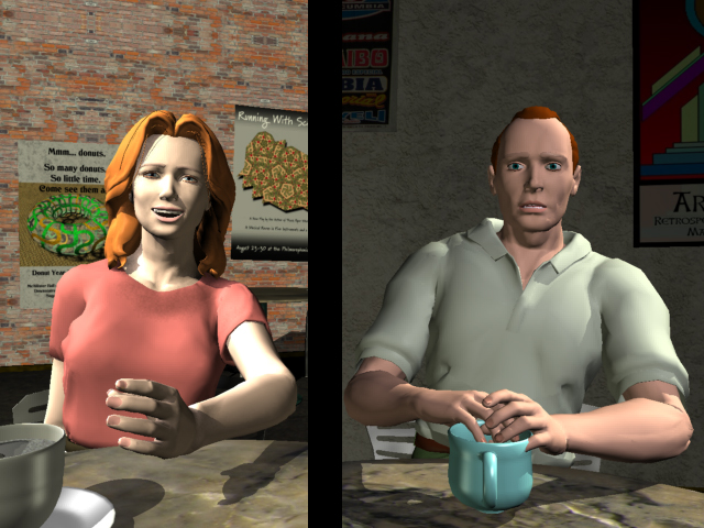 Cafe Split Screen