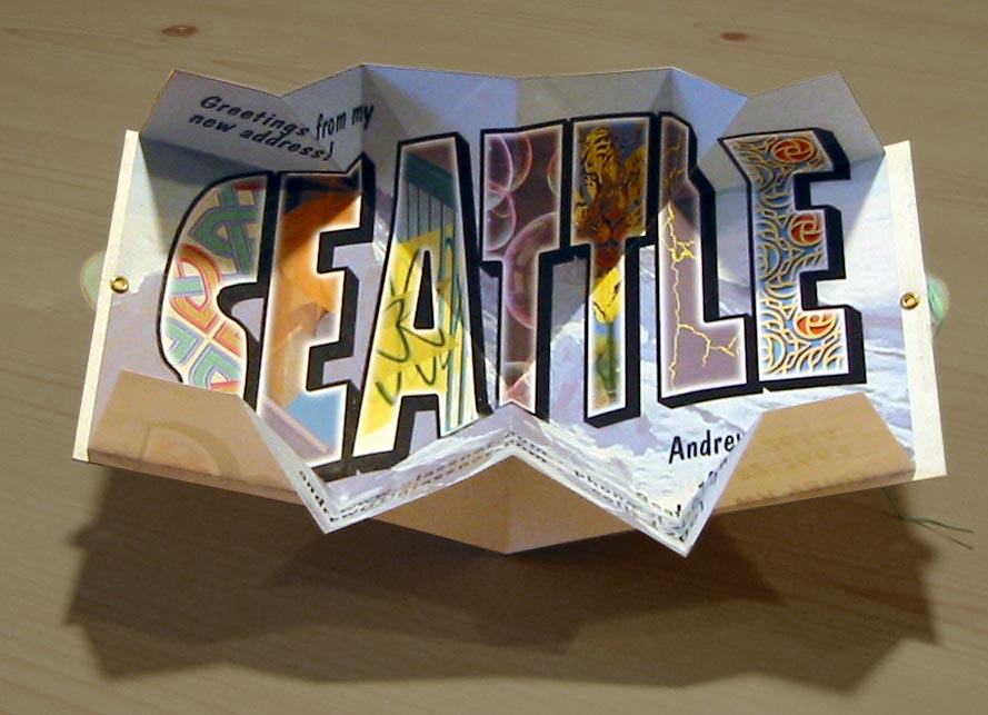 Seattle Pop-up Card