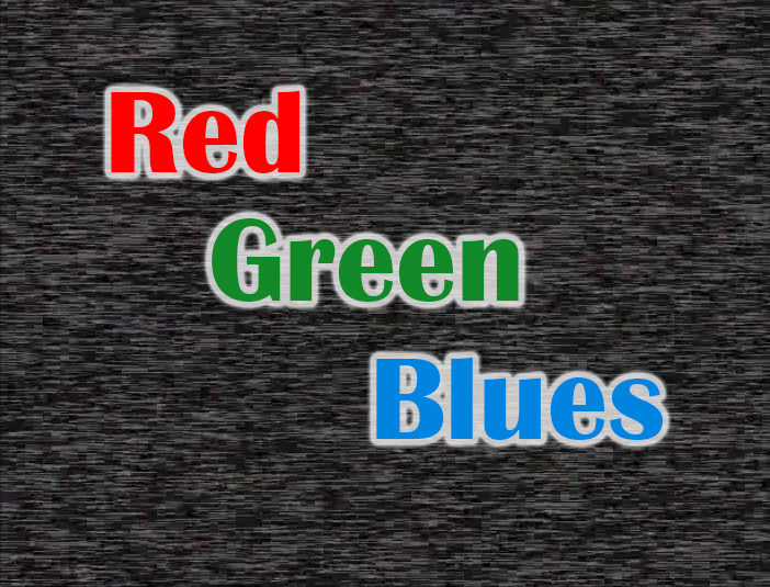 Red Green Blues